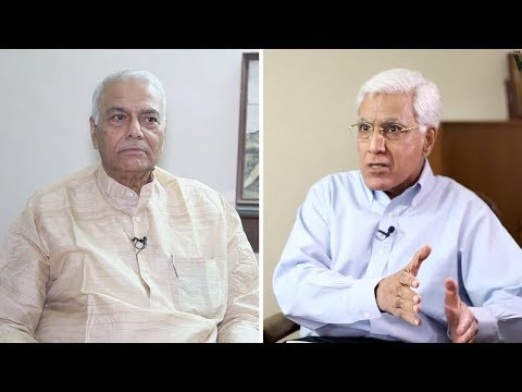 Yashwant Sinha: Economic Crisis Intensifying, BJP Will Be Held to Account in 2019