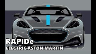 2019 Aston Martin RapidE (Electric) Preview