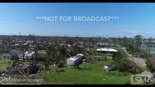 10 11 18 Callaway, FL Aerial Views Of Massive Wind Damage