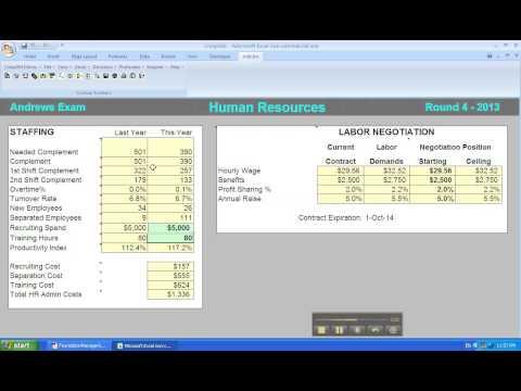Capsim Simulation: The Human Resources Module | Owlcation