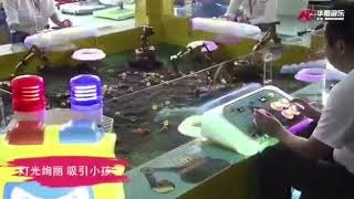 Arcade Game | Coin operated amusement rides excavator arcade game for kids | Coin operated amusement rides excavator arcade game for kids
