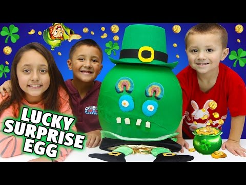 Thumbnail: The Luckiest Surprise Eggs' Disastrous Opening! BAD IDEAS x 3 w/ Skylander Boy and Girl & LC CHASE