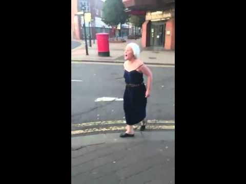 Mad Maggie Pissed In Rotherham