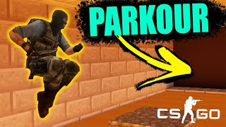 PARKOUR MASTER - CSGO MINI GAMES HIGHLIGHTS (Counter-Strike: Global Offensive)