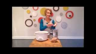 Ultimate Daniel Fast - How to Cook Chickpeas in a Crockpot