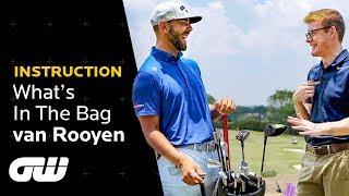 Erik van Rooyen: What's In The Bag 2019   Golfing World
