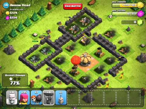 Clash of Clans Guides 3 (Arrow Head)