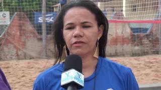 Cláudia destaca a parceria da Secretária de Esporte de Quixeré e o SESC