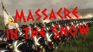 MASSACRE IN THE SNOW - Let's Play Empire: Total War - Imperial Destroyer Mod