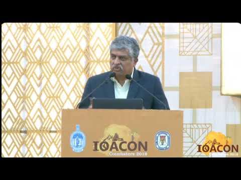"IOACON 2018  Mr Nandan Nilekani, Talk on ""Digital India"""