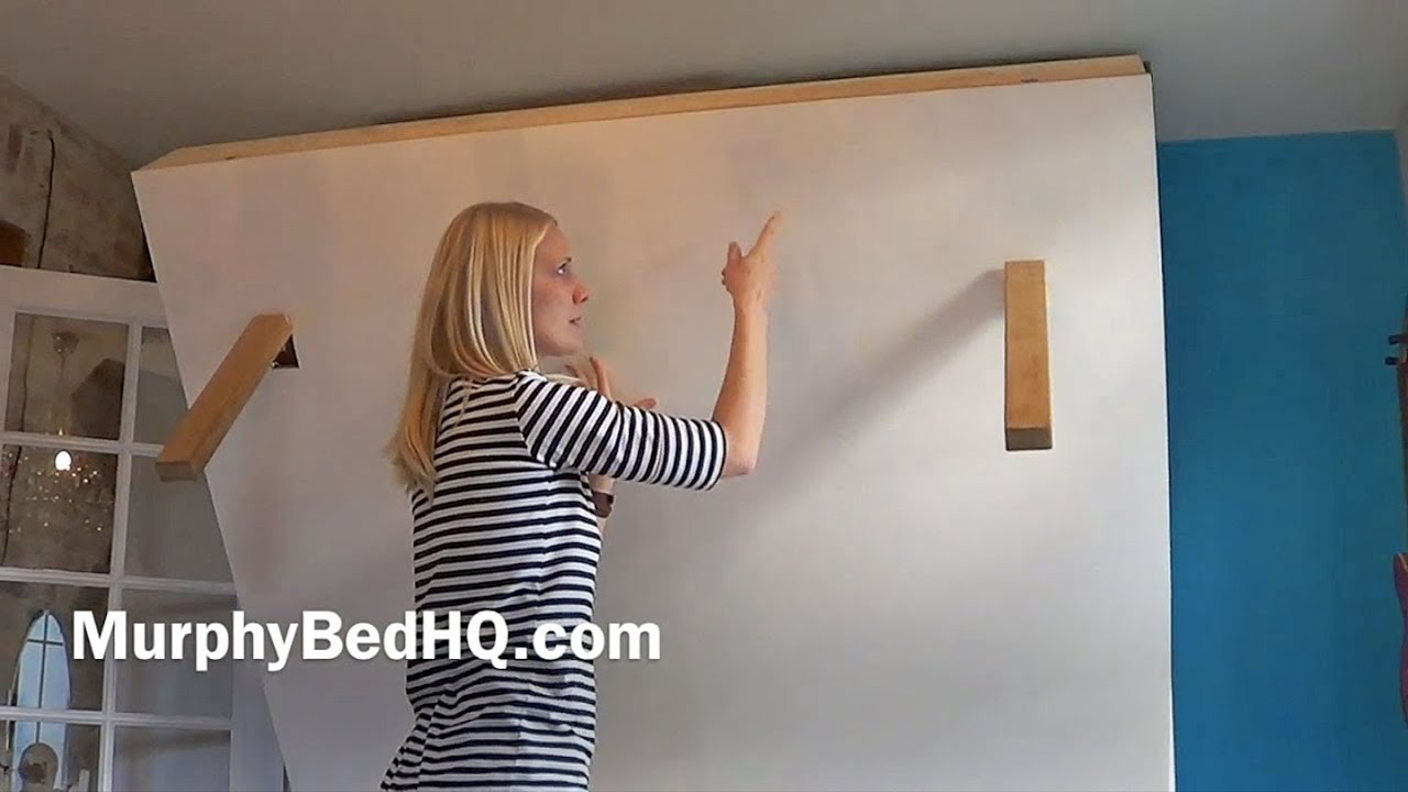 build how wpcoop hardware queen org to a installing easy twin bed murphy kit for diy rv wall