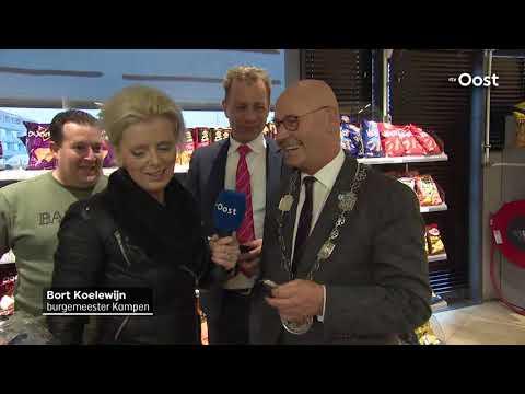 Start 'Samen voor de Voedselbank' levert duizend euro op tijdens 1 minuut winkelen in Kampen