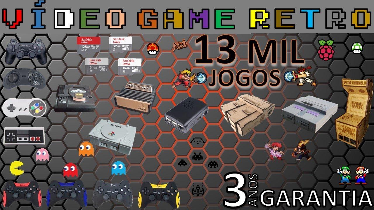 Video game retro com 13 mil jogos demostrao rvinforworld youtube video game retro com 13 mil jogos demostrao rvinforworld stopboris Images