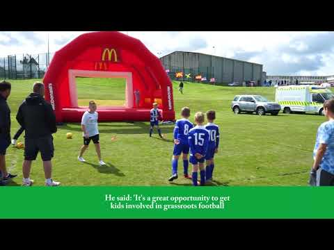 McDonald's Community Football Day - Amlwch Town