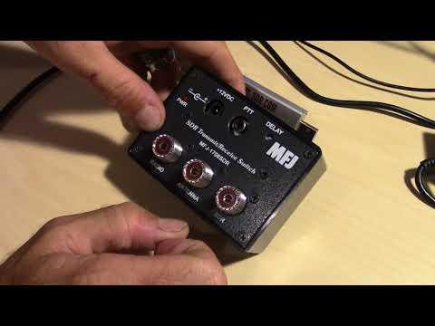 MFJ-1708SDR Transmit/Receive Switch For SDR Receivers