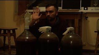 90 литров домашнего вина, мы готовы к Новому Году! Винишко кун