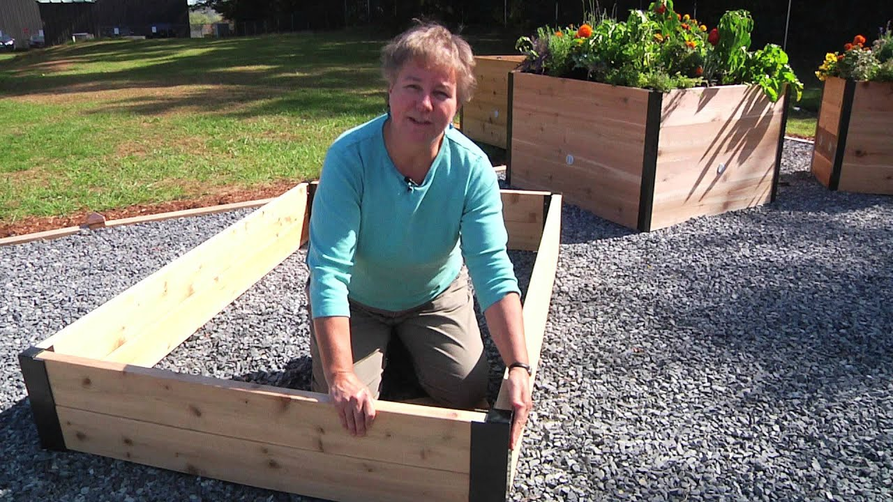 Beau How To Use Raised Bed Corners