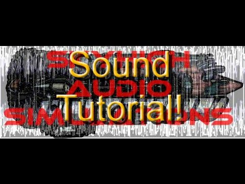 Flight Simulator X Sound Tutorial - How to make a soundpack - Part 1