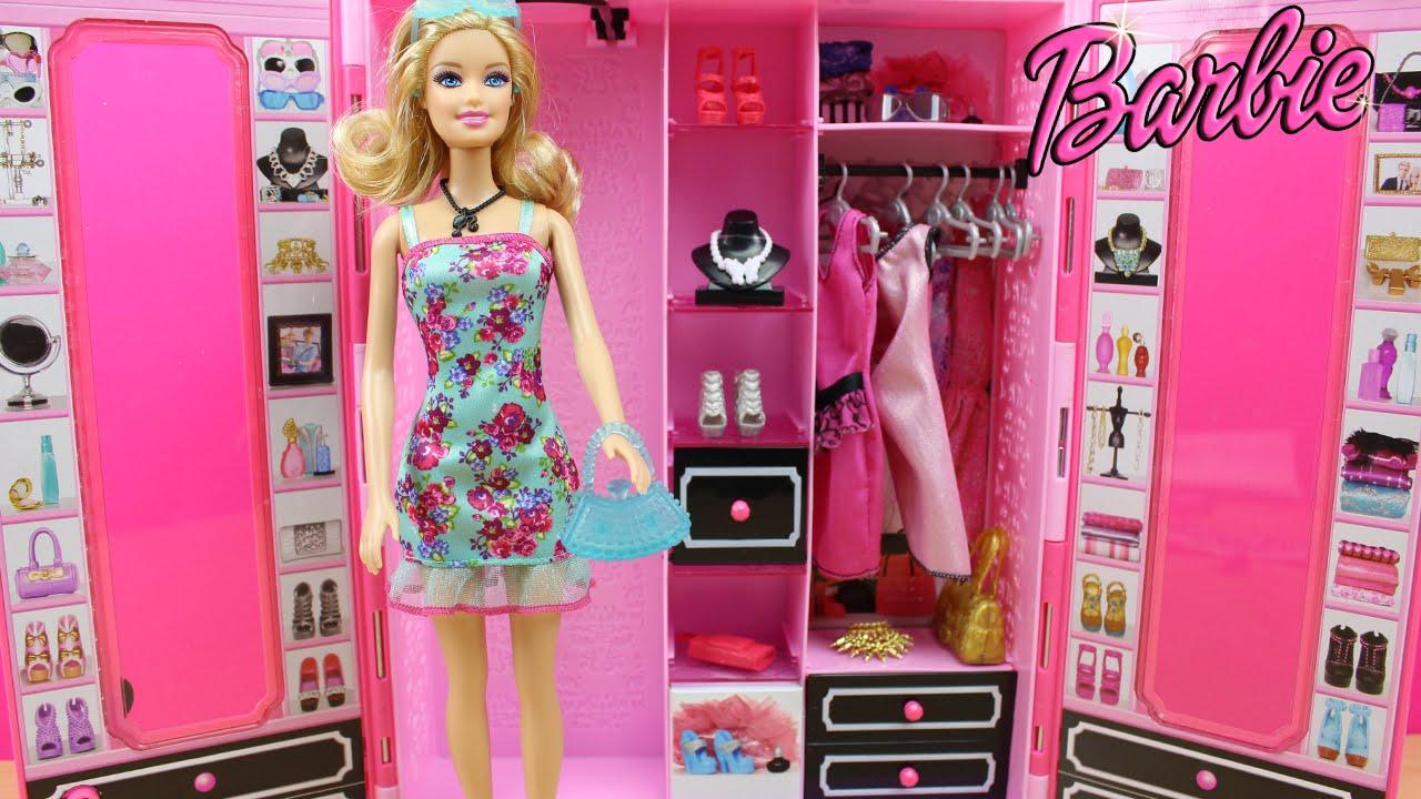 Armario style de la mu eca barbie en espa ol juguetes de - El armario de la tv ...