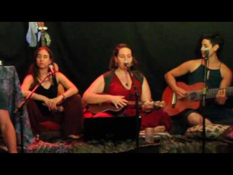 Melita Silberstein with Lauren Arrow, and Ila Cantorat at Guava, Emeryville, CA, July 18, 2016