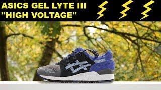 "Asics Gel Lyte III ""High Voltage"" #3M #THUNDER"