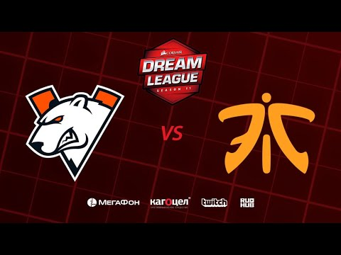 Virtus.pro vs Fnatic, DreamLeague Season 11 Major, bo3, game 2 [Casper & GodHunt]