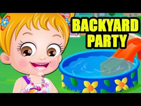 Baby Hazel Party Games