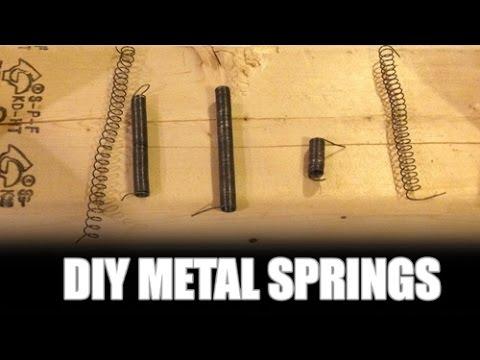 DIY Metal Coil Springs