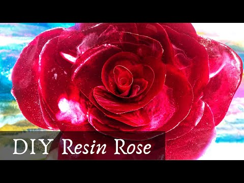 DIY Resin Rose (Successes and Fails) TUTORIAL start to finish