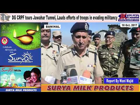 Jammu Kashmir News Round Up 18  Oct 2017