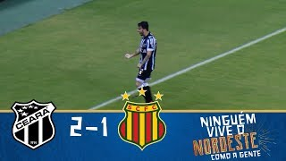 Melhores Momentos - Ceará 2 x 1 Sampaio Corrêa - Copa do Nordeste (10/03/2018)