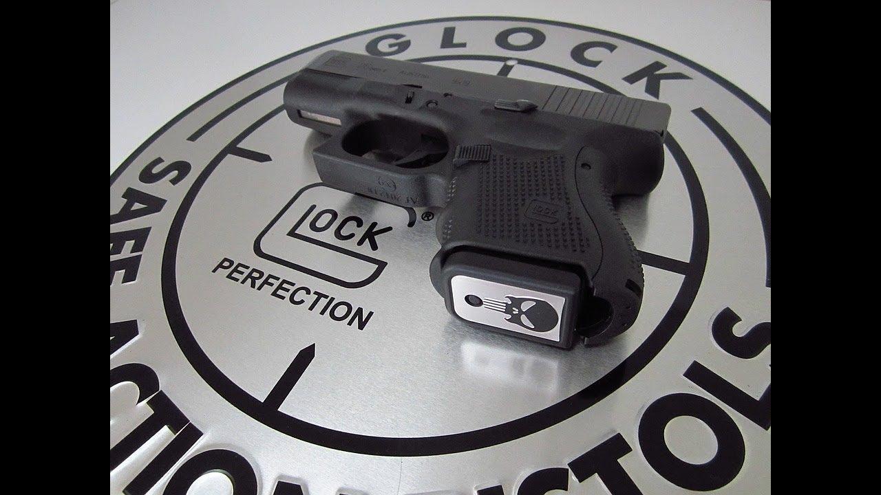 Glock 26 Bfg Frame With Burnt Bronze Slide Youtube