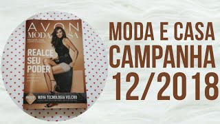 Revista Moda e Casa Campanha 12/2018   AVON