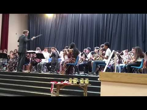 Kerman Middle School 8th Grade Band Concert