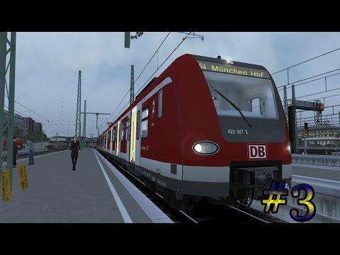 Train Simulator 2016 - Met de BR 423 naar München (Livestream#3)  