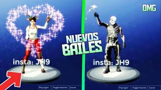 NEW BAILES, SKINS AND GESTURES IN FORTNITE! Last Update