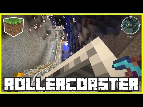 The Roller coaster is Finished | Minecraft