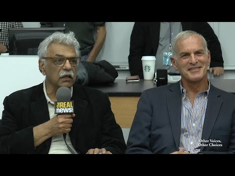Left Forum 2016 - A Dialogue On Israel And Palestine With Tariq Ali And Norman Finkelstein