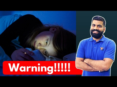 Smartphones Damaging Our Body - How to be Safe!!!