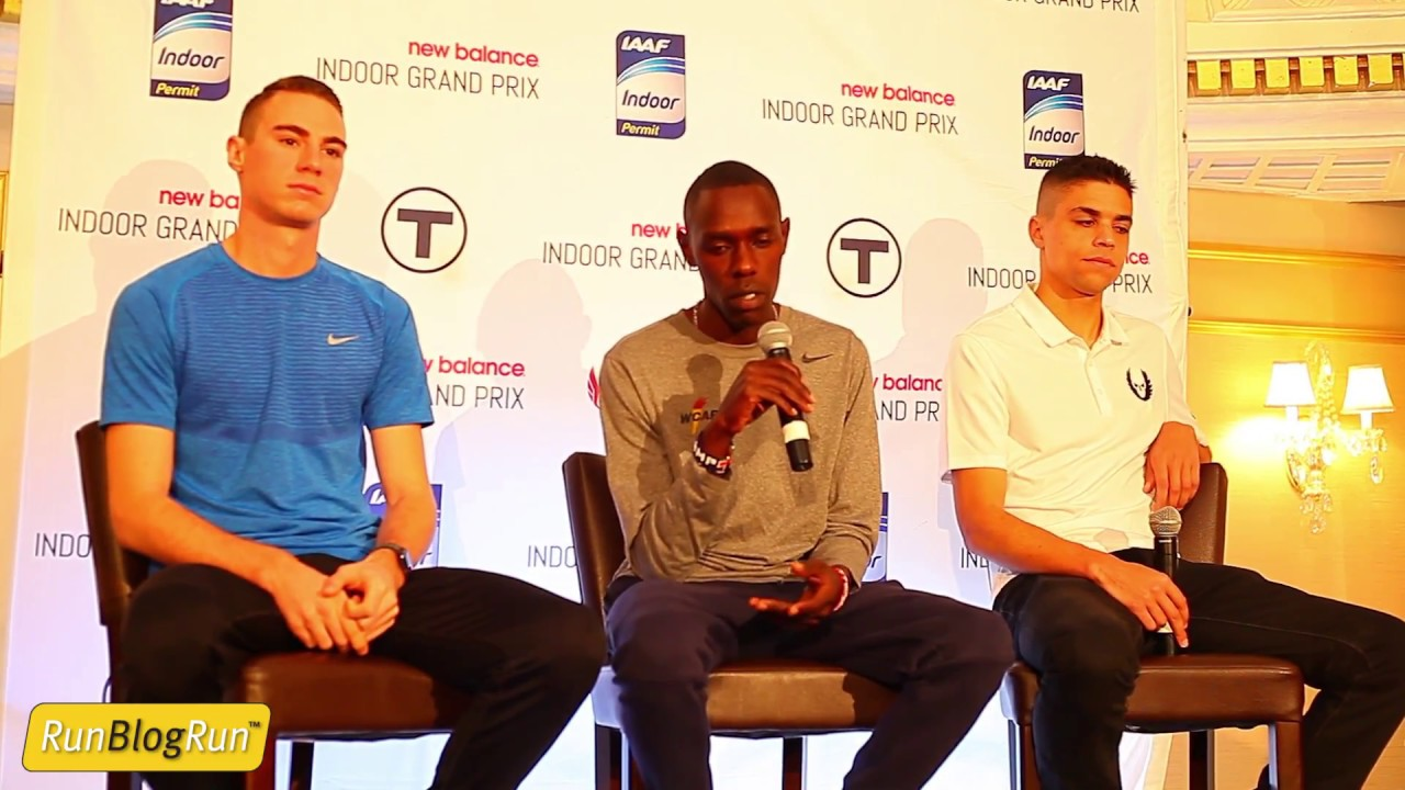 2017 New Balance Indoor Grand Prix Presser Part 2