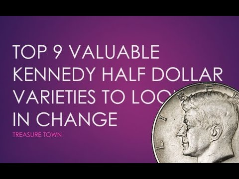 Top 9 Valuable Kennedy Half Dollar Errors In Pocket Change ($15000+)