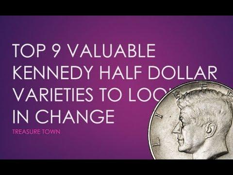Top 9 Valuable Kennedy Half Dollar Errors In Pocket Change ($15000+)