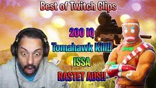 Amar macht 200IQ Tomahawk Kill  // ISSA RASTET Aus!!  Best of Twitch Clips
