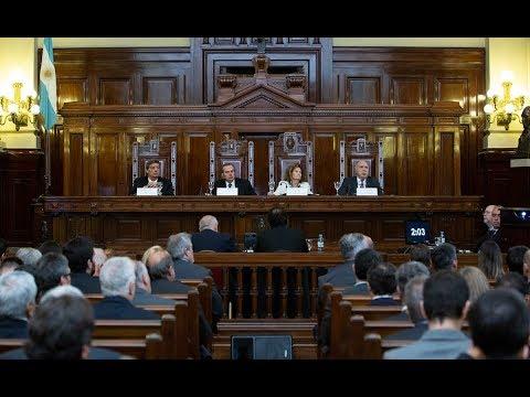 Audiencia pública ante la Corte Suprema en una causa en la que se debate la autonomía de los municipios para establecer tasas