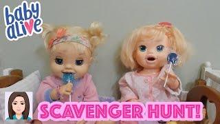 Emma and Kaylee Go On A Scavenger Hunt