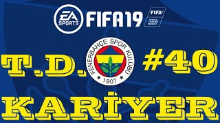 BİRAZDA SİMULATE EDELİM ! FIFA 19 KARİYER MODU #40