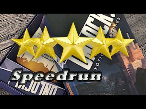 UNLOCK - Scheherazade's Last Tale - escape game - Solution - Speedrun - 5 Stars - 10 Minutes |