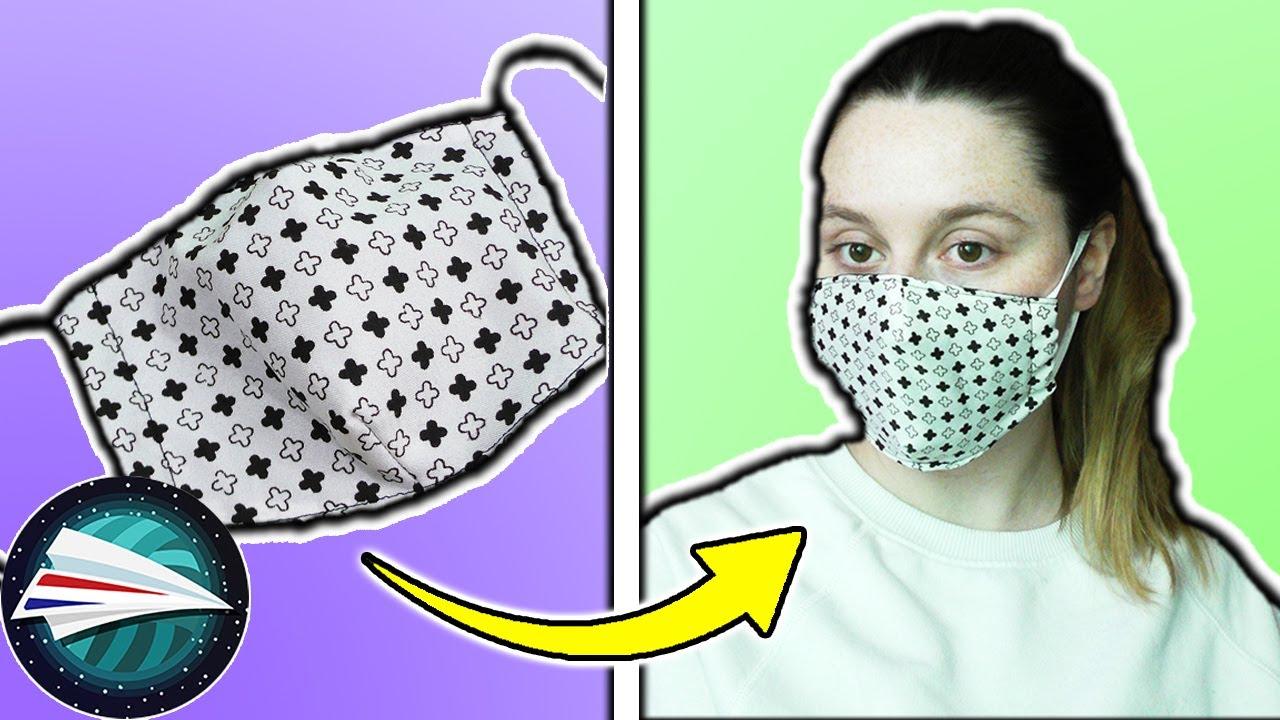 Mondkapje naaien handleiding Beschermend masker zelf maken ...