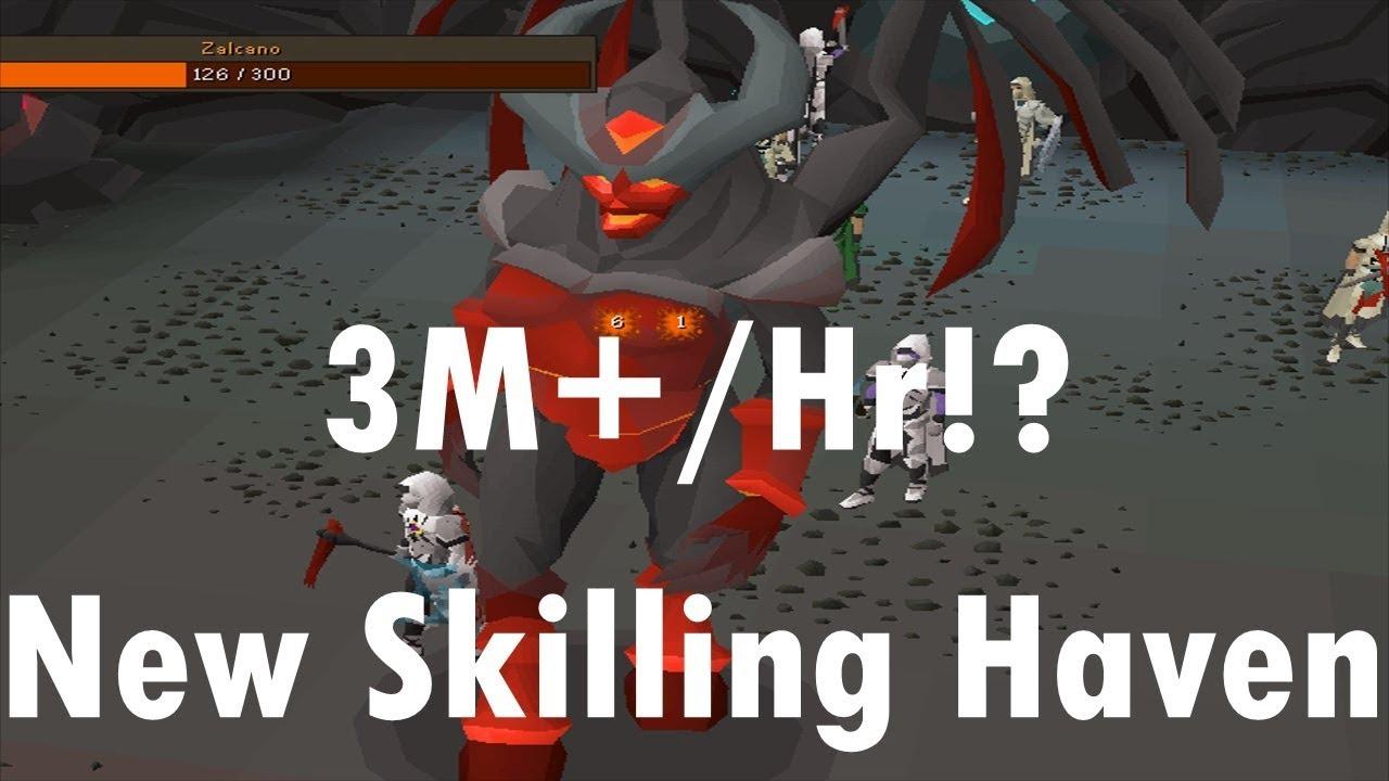 3m/Hr Zalcano / Gauntlet / Divine Potions / Many New Skilling Additions