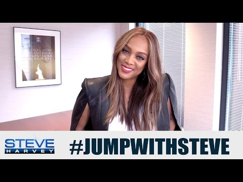 Tyra Banks: The best advice I got… || STEVE HARVEY